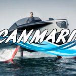 Гибридная «летающая» яхта Foiler не боится даже высоких волн